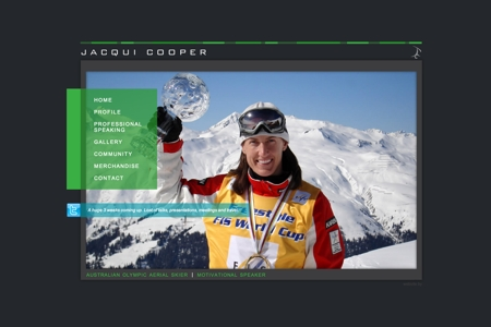 Jacqui Cooper - Australian Olympic Aerial Skier