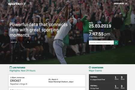 Sportsyear - Sports Data Services